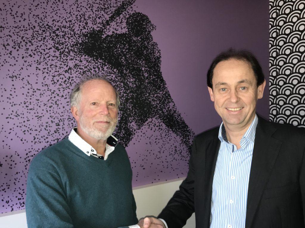 André Aaij en Guus van Dee partners Honkbalweek